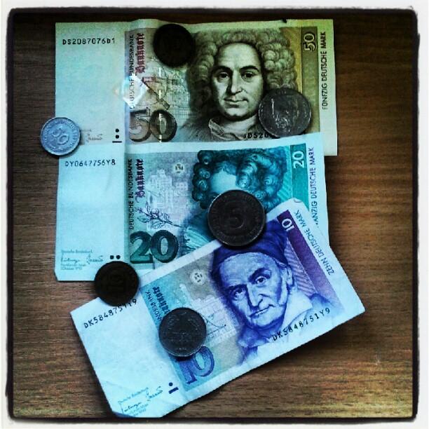 RICHTIGES Geld.