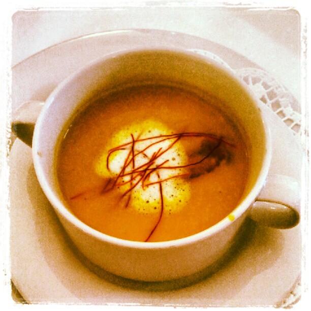 Suppe auslöffeln.