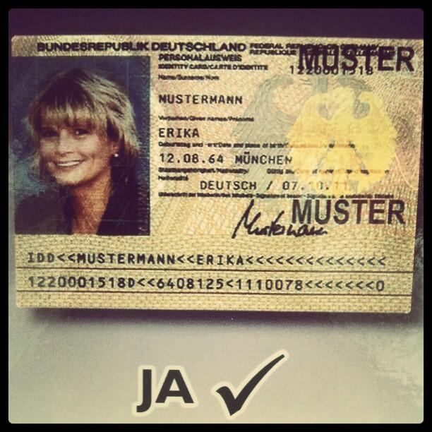 Erika Mustermann.