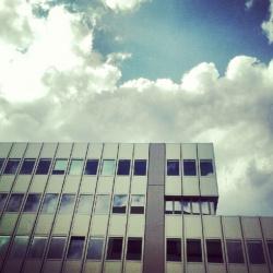 Wohnklo-Architektur.