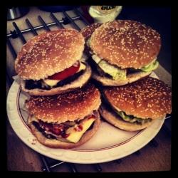 Burger (2) nachher.